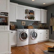 Traditional Laundry Room by Kitchens By Woody's