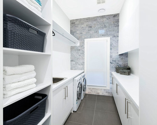8,586 Contemporary Laundry Room Design Ideas & Remodel Pictures | Houzz