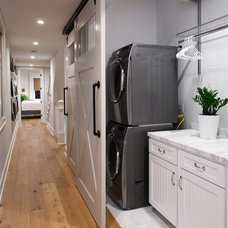 Beach Style Laundry Room California Cape Cod