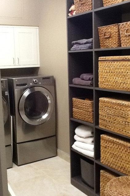 Contemporary Laundry Room by California Closets Maryland