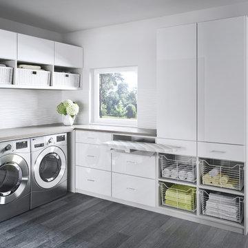 California Closets Laundry Room