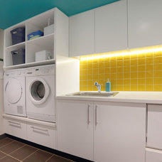 Contemporary Laundry Room by Inside Out Colour and Design