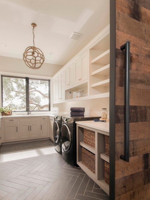 Beach Style Laundry Room Design Ideas, Remodels & Photos