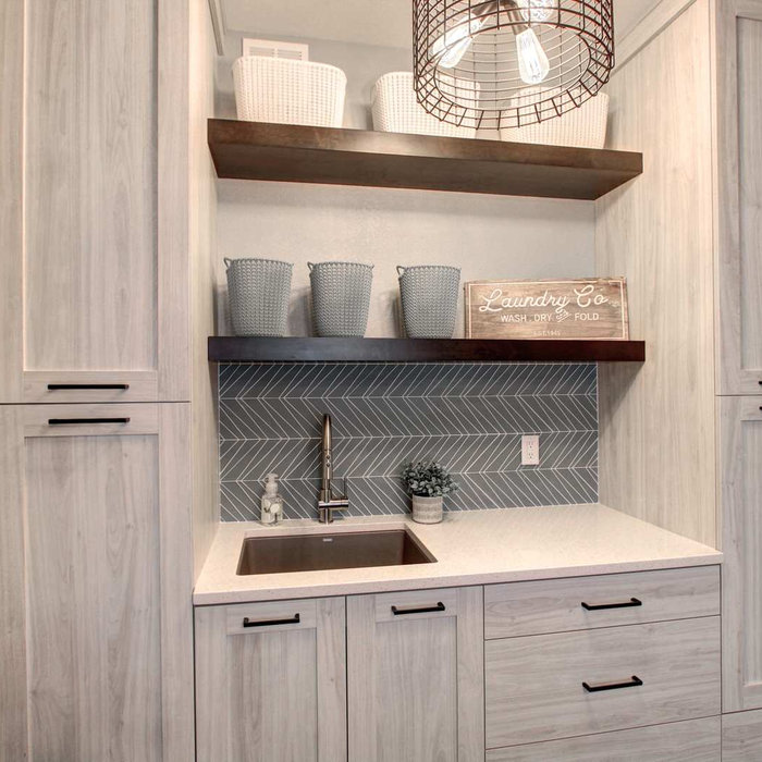 Calm Laundry/Mudroom