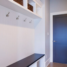 Transitional Laundry Room by Starline Cabinets