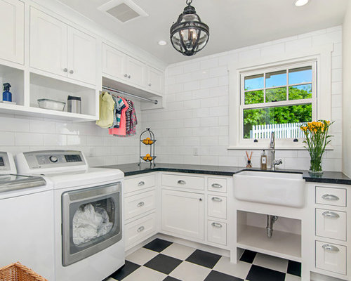 Traditional laundry room design ideas remodels photos - Laundry room remodel ideas ...
