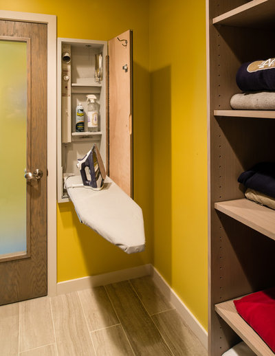 Contemporary Laundry Room by B.C.D. Interiors