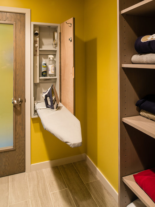 Top 20 Laundry Room with Yellow Walls Ideas Photos Houzz