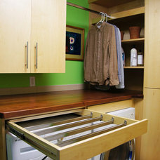 Modern Laundry Room by Hughes Contracting Inc