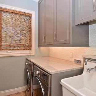 Foto e Idee per Lavanderie - lavanderia con top in marmo Tampa
