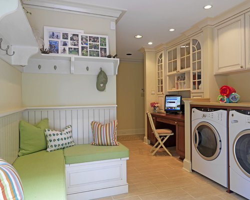 Laundry Room Bench