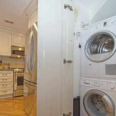 laundry room by Case Design/Remodeling, Inc.