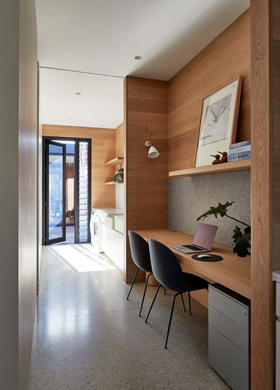 Contemporary Laundry Room by RBA Architects and Conservation Consultants