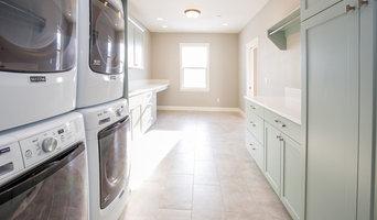 Castlebury Laundry Room + Mudroom