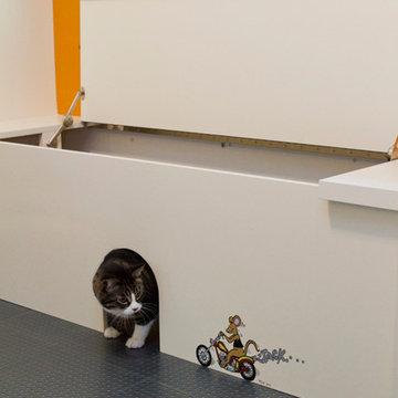 Cat/Laundry Room