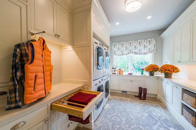 Traditional Laundry Room by House of L Interior Design