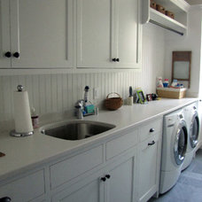Traditional Laundry Room by Engineered Wood Products