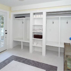Traditional Laundry Room by Erica Fultz Design and Construct