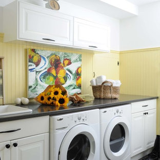 Cheerful Laundry and Mudroom