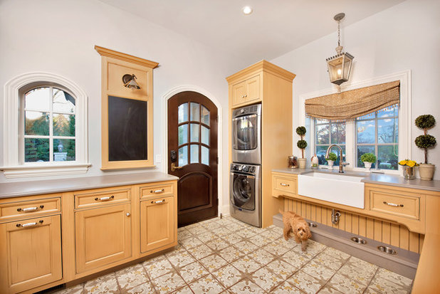Traditional Laundry Room by A. Perry Homes