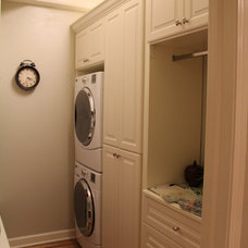 Traditional Laundry Room by Chrissy Roellchen - Closet Works Chicago