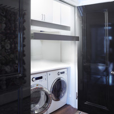 Contemporary Laundry Room by Woodmeister Master Builders