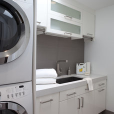 Contemporary Laundry Room by Shane D. Inman