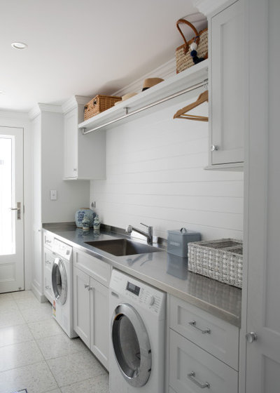 Traditional Laundry Room by Wyer + Craw