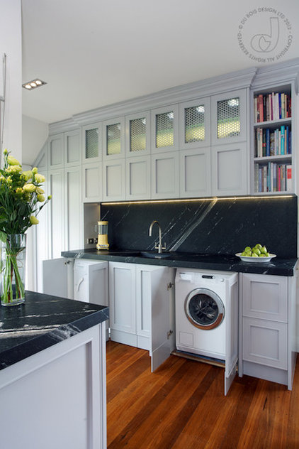 traditional laundry room by Natalie Du Bois