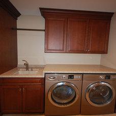 Laundry Room by Insignia Kitchen and Bath Design Studio