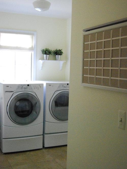 Traditional Pottery Barn Laundry Room Design Ideas