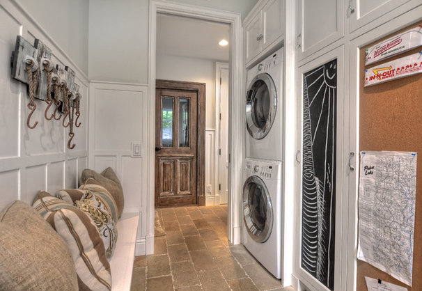 Traditional Laundry Room by James Glover Residential & Interior Design