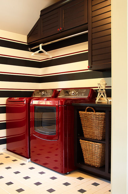 Traditional Laundry Room by Haisma Design Co.