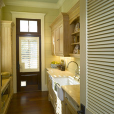 Traditional Laundry Room by Hungeling Design, LLC