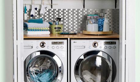 7 Idee per Rendere lo Spazio Lavanderia Più Bello