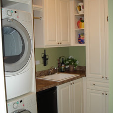 Traditional Laundry Room by Closet Organizing Systems