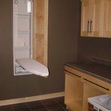 Traditional Laundry Room by JORDAHL CUSTOM HOMES
