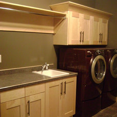 Traditional Laundry Room by JORDAHL CUSTOM HOMES