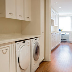 Countertop Materials For Laundry Room : Best Laundry Room with Solid Surface Countertops and Yellow Walls ...