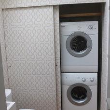 Contemporary Laundry Room by davidhendricks - bespoke interior design