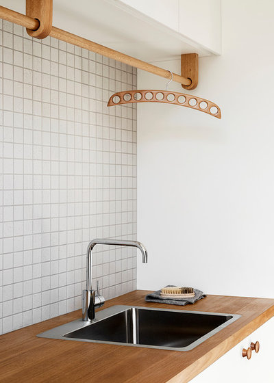 Contemporary Laundry Room by Lisa Breeze Architect
