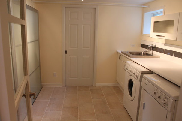 Modern Laundry Room by Renovations Forcha