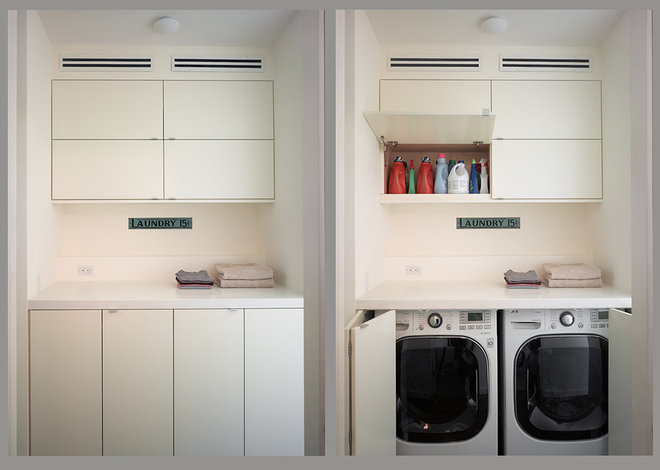 Modern Laundry Room by Ken Gutmaker Architectural Photography