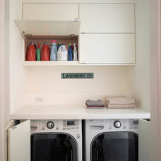 Modern Laundry Room by Levy Art & Architecture