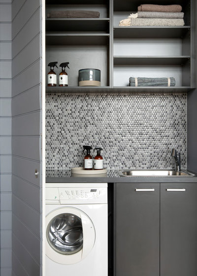 Contemporary Utility Room by Jasmine McClelland Design