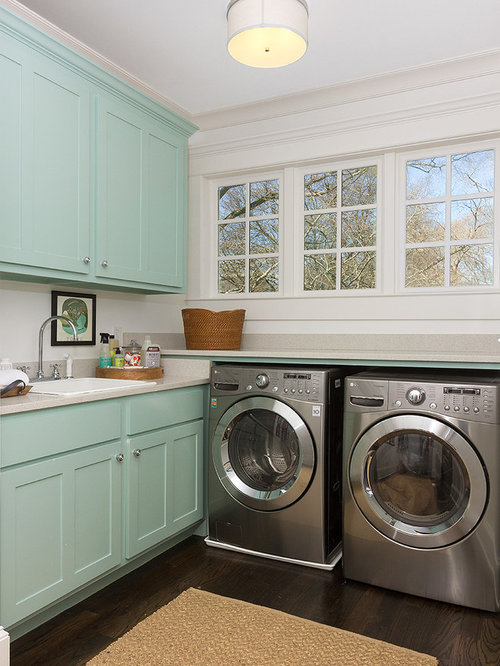 Laundry room storage home design ideas pictures remodel for Decorate a laundry room