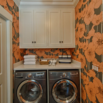 Colorful Master Suite & Laundry Room
