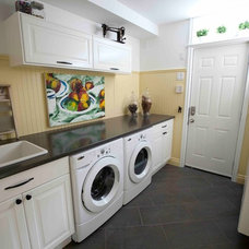 Traditional Laundry Room by Simply Home Decorating