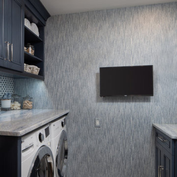 Compact Laundry Room Renovation