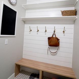 Laundry room - country laundry room idea in Phoenix